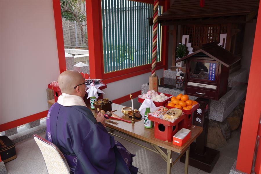 初午祭(弐の馬)
