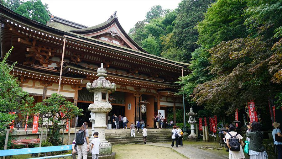 竹生島宝厳寺 本堂