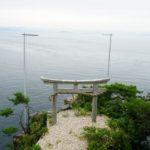 竜神拝所からの景色